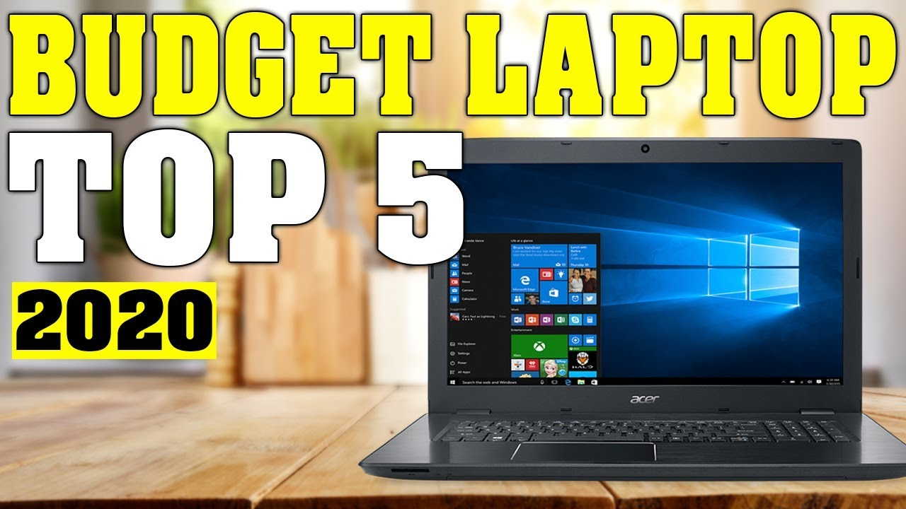 Top 5 Best Budget Laptop 2020 Youtube