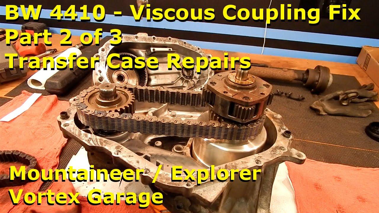 Mountaineer / Explorer - BW 4410 Viscous Coupling Pt 2 - TC Repair - Vortex  Garage Ep 13
