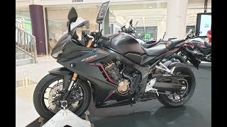 Honda CBR650R 2019 | Mat Gunpowder Black Metallic