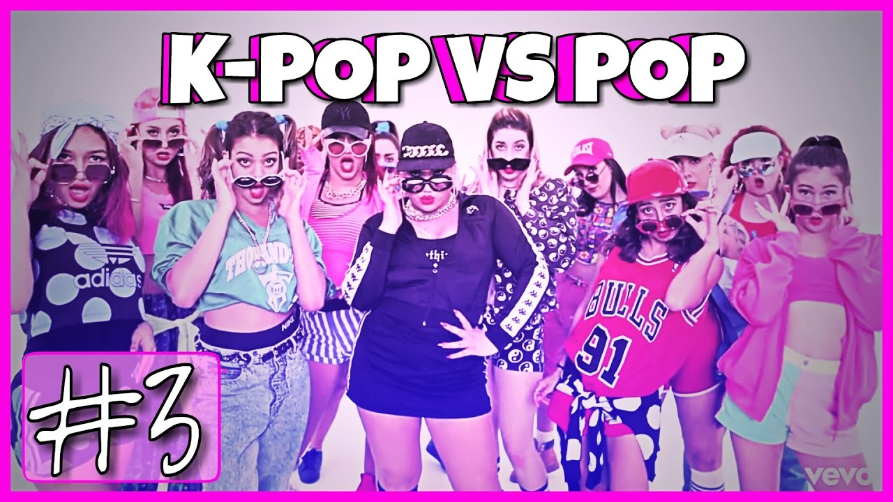K-POP VS POP #3 | HARD