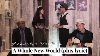 A Whole New World - Peabo Bryson and Regina Belle | Cover by Adena Coustic Feat Jose Epenetus Mene