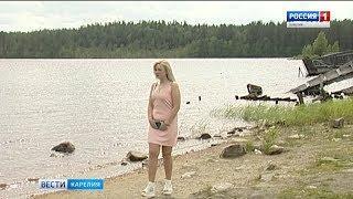 В Поросозеро девушка спасла тонувшего в реке подростка