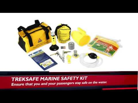 Treksafe Marine Safety Kit