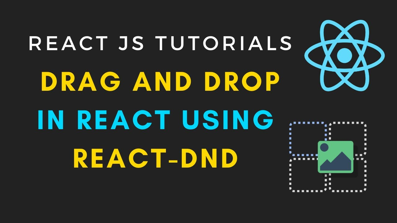 Drag and Drop in reactJS using react-dnd