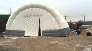 видео Аэромир — Производство надувных батутов и аттракционов
