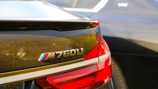 BMW M760Li 2017 Review - 7 series G12 V12