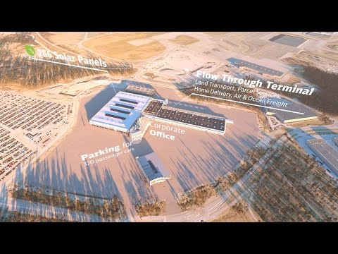 DB Schenker Finland - 'The Terminal of the Future'