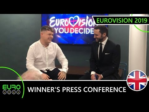 WINNER'S PRESS CONFERENCE: Michael Rice & Måns Zelmerlöw (United Kingdom Eurovision 2019)