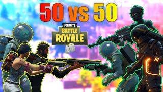 Fortnite Battle Royale #30 Das wird Episch! 50 vs 50 Modus