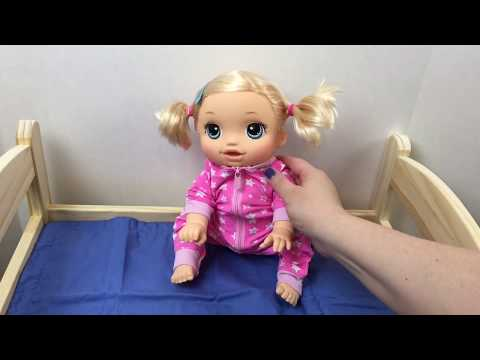 c1c2c99e5103 Baby Alive Baby Go Bye Bye Doll Can't Sleep and Sneaks a Christmas Present  Feeding Diaper Change - YouTube