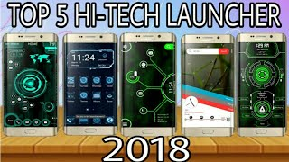 Top 5 Hi tech Launcher For Your Android || Make Your phone Jarvis