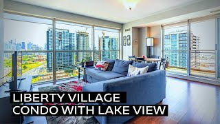 A Liberty Village Condo With Lake View
