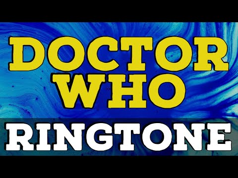 Doctor Who Ringtone and Alert