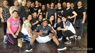 Sara india song zumba fitness choreograph by lucky singh