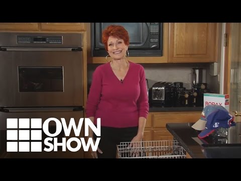 How to Wash Dirty Baseball Caps   #OWNSHOW   Oprah Online
