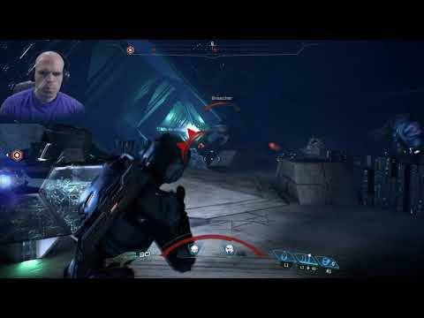 Mass Effect Andromeda part 82 PS4 NerdJock Vid 1030