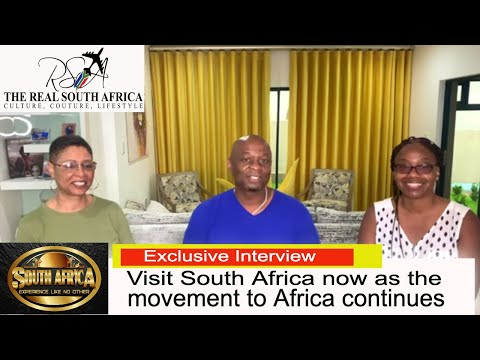 South Africa| The movement to South Africa has begun start your journey now watch Asha and Millicent