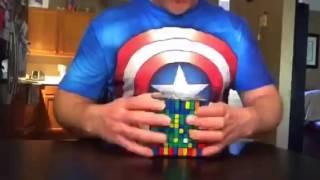 10x10 Rubik's Cube Solve