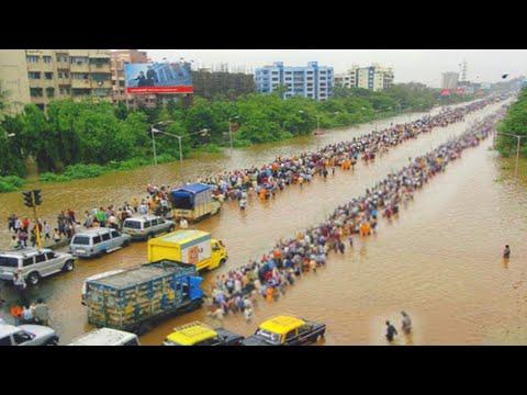Mumbai rains are MERCILESS!❌ Monsoon Rains trigger Flood Chaos in India.