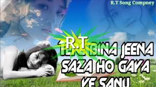 Tere Bina Jeena Saza Ho Gaya ll Punjabi Mix ll Dj R.T Song Compney || Tere Bina Saja Ho Gaya Remix |