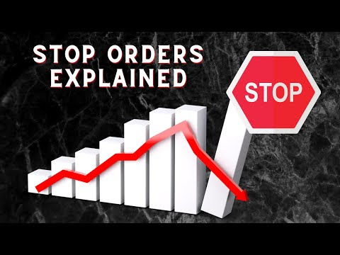 Why You Should Be Using STOP Orders (stop-loss) As A Crypto Trader!