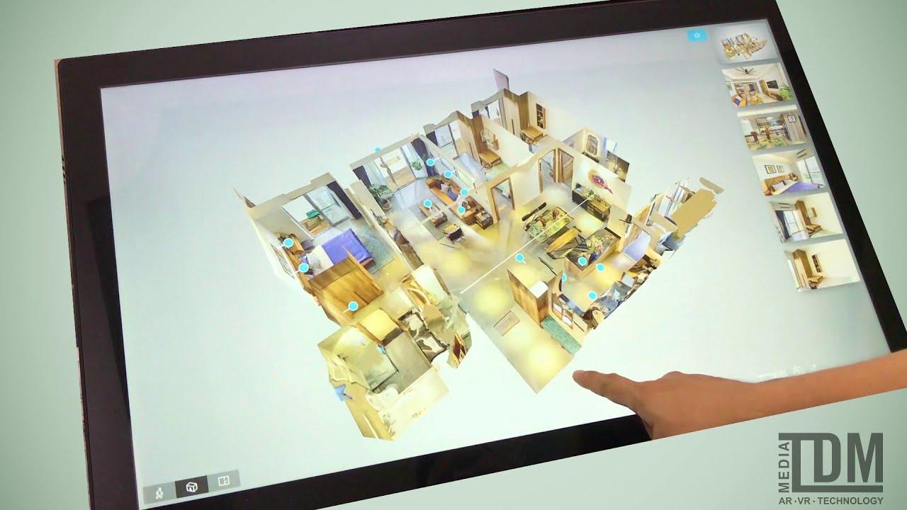 Giới thiệu dự án River Park bằng công nghệ thực tế ảo 3D Scanning – Toàn Dũng Media