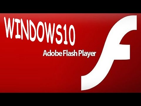 Windows 10 How to Download & Install Adobe Flash Player 2017