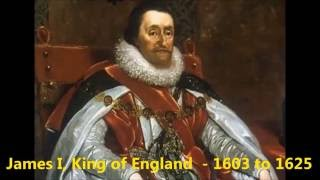 Kings and Queens of England 519 to 2015