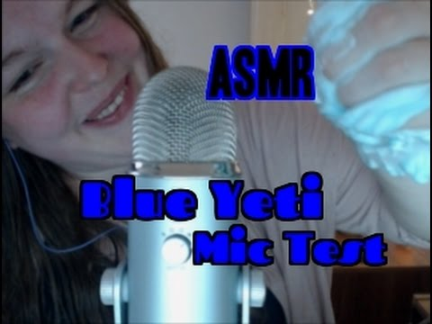 ASMR  |  Blue Yeti Mic Test | 👂 Full of Trigger Sounds. Whis