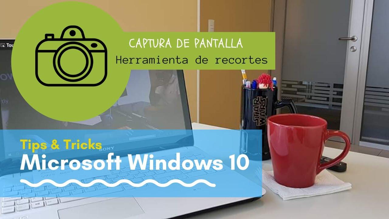 Capturas de pantalla en Microsoft Windows 10