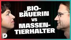 Bio-Bäuerin vs. Massentierhalter: Ist Bio nur Luxus für Reiche? |DISKUTHEK