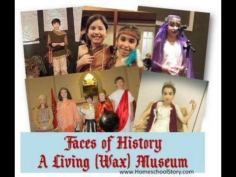 Faces of History - A Living Wax Museum - Classical Conversations