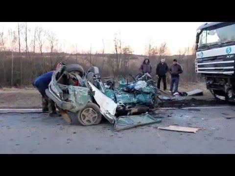 Смертельное ДТП в Куньинском районе 28 марта 2016