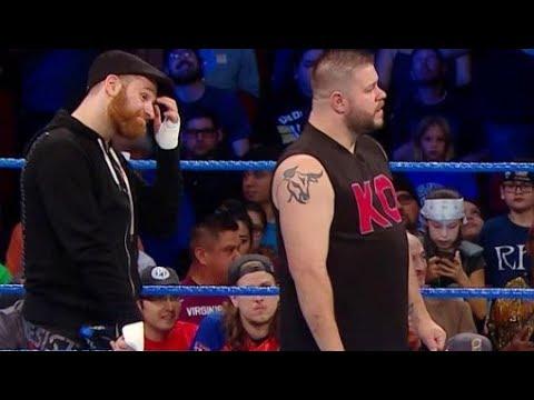 WWE Smackdown 11/21/2017 - Lumberjack Match - Aj Styles