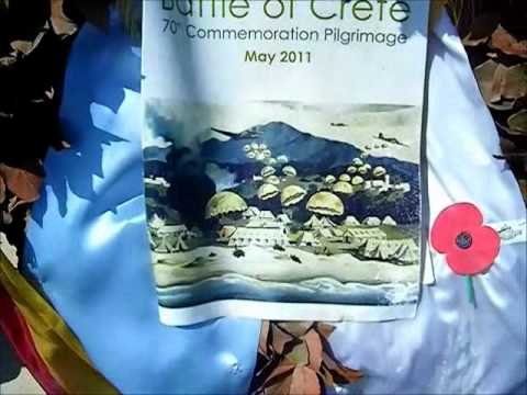 Souda Bay War Cemetery 70th Anniversary of the Battle of Crete