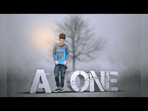Picsart Editing Alone Boy in Fog Manipulation Picsart Tutorial