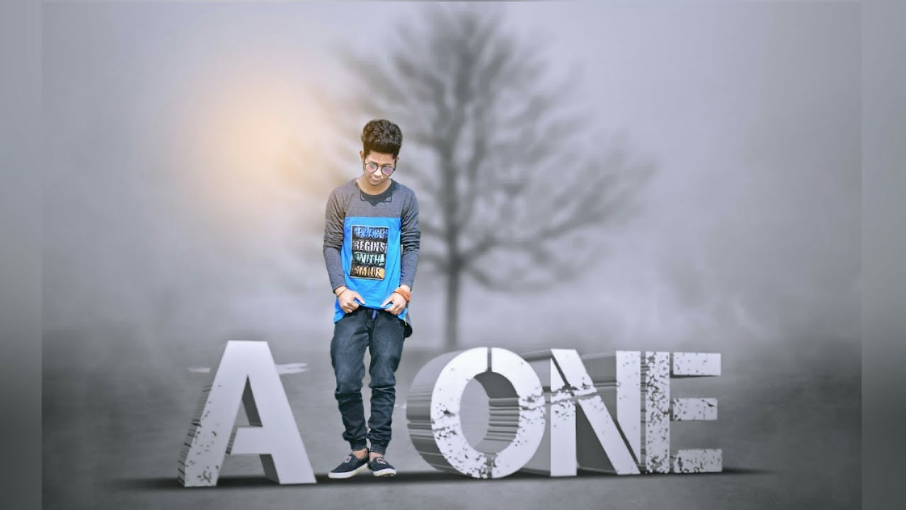 Alone Boys Editing Pics