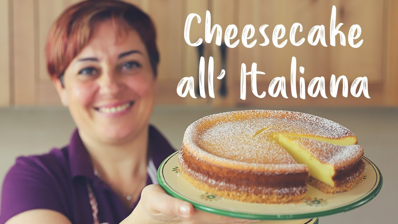Cheesecake All Italiana Di Benedetta Ricetta Facile Italian Cheesecake Easy Recipe Youtube