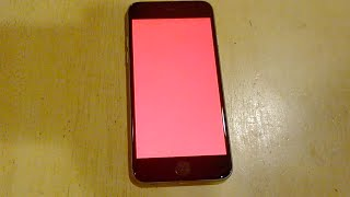 iPhone 6 Red Screen of Death
