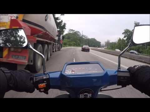 VLOG - YAMAHA Y100 SPORT BREAKFAST RUN IN TO IJOK feat CIKGU MAN Y15ZR
