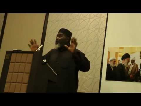 Imam Abdul Alim Musa speaking about police brutality in the United States