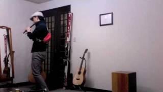 桑田佳祐さんの白い恋人達を、リコーダーで演奏しました。