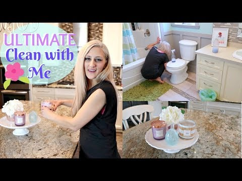 ULTIMATE CLEAN WITH ME 2018 ~ CLEANING MOTIVATION ~ SPRINGTIME