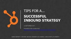 Inbound marketing strategy (2018): Tips for a successful implementation (Training)