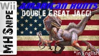 Monster Hunter Tri: Amarican Hunts - Great Jaggi (capture Card Test)