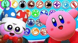 Kirby Star Allies All Characters Unlocked w/ Splash Screens (Friends + DLC) Rick Marx & Gooey