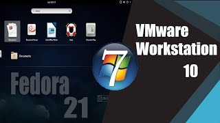 how to install Fedora 21 on VMware Workstation & Windows 7
