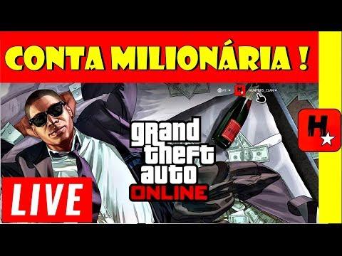CONTA MILIONÁRIA DO GTA 5 ONLINE | UPDATE CASINO | CARROS, Dinheiro | GTA V SOLO MONEY GLITCH Descr.