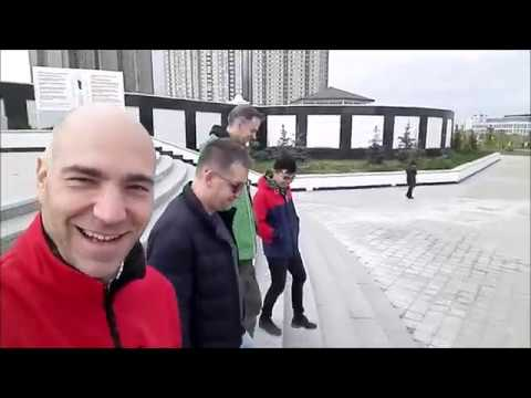 THE AORTA MISSION:  A ROAD MOVIE IN ASTANA, KAZAKHSTAN, OCT 2018