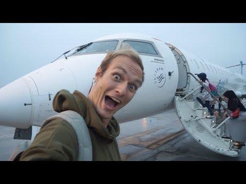 FLYING THE GARUDA INDONESIA JET!